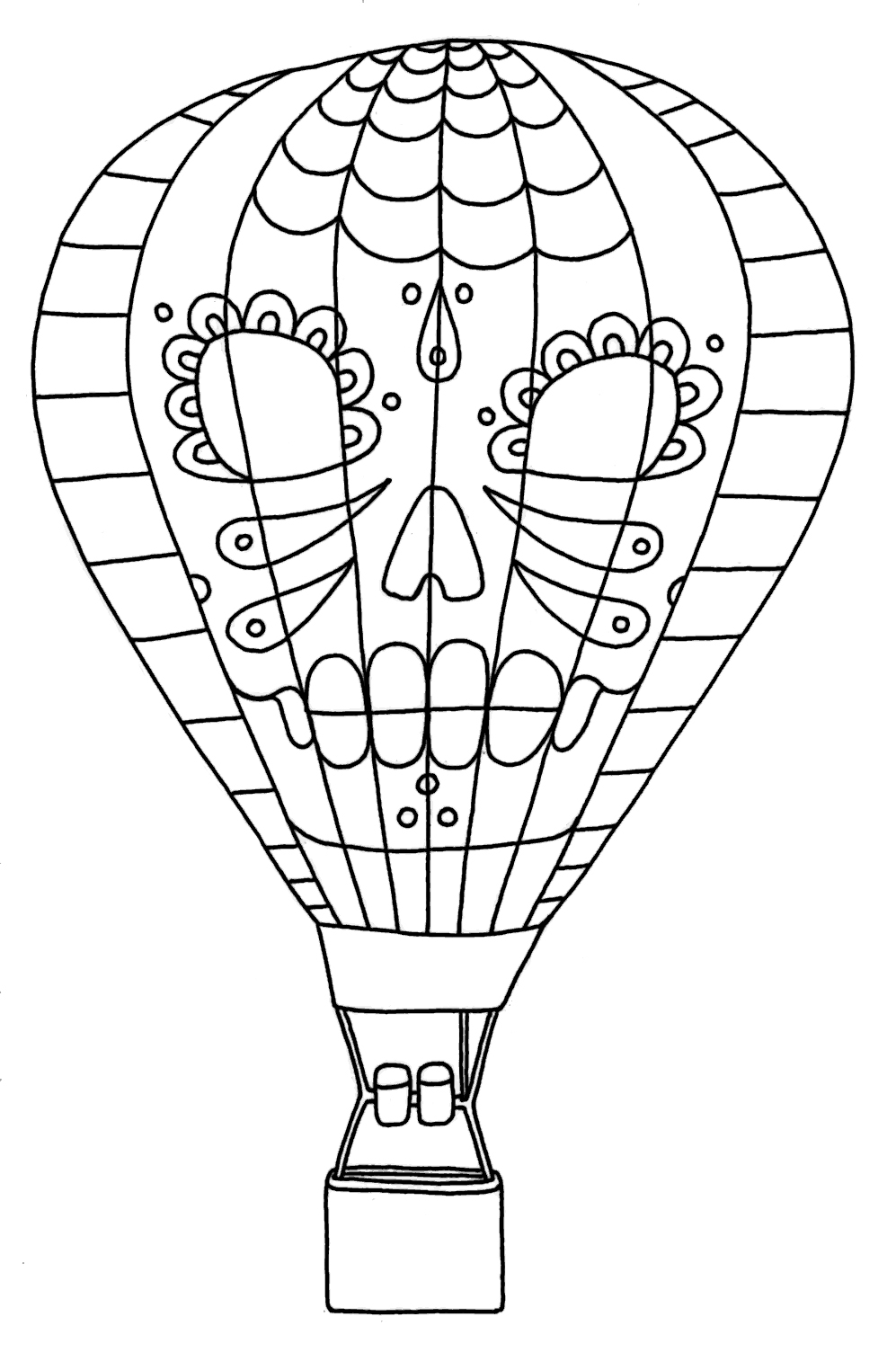 balloons to color yucca flats nm wenchkin39s coloring pages dia de los color to balloons
