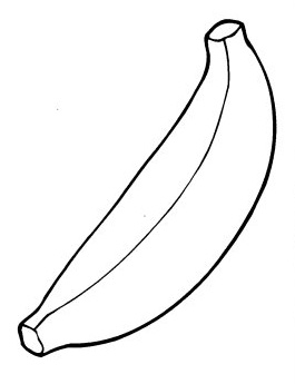banana coloring page bananas coloring pages free coloring pages coloring page banana