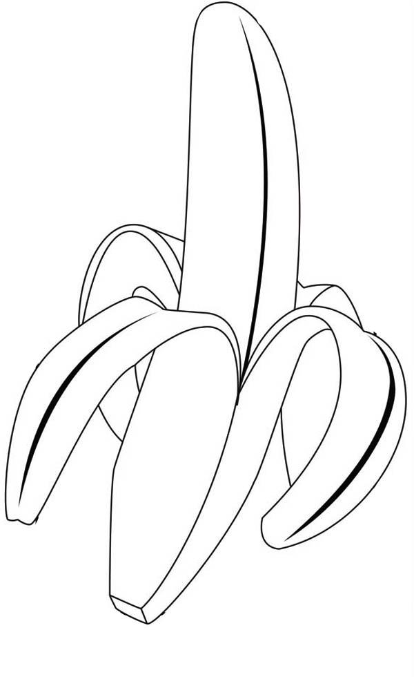 banana coloring page funny bananas coloring pages to printable coloring banana page