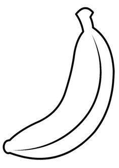 banana picture to color banana colouring page also works very well as a printable picture to color banana