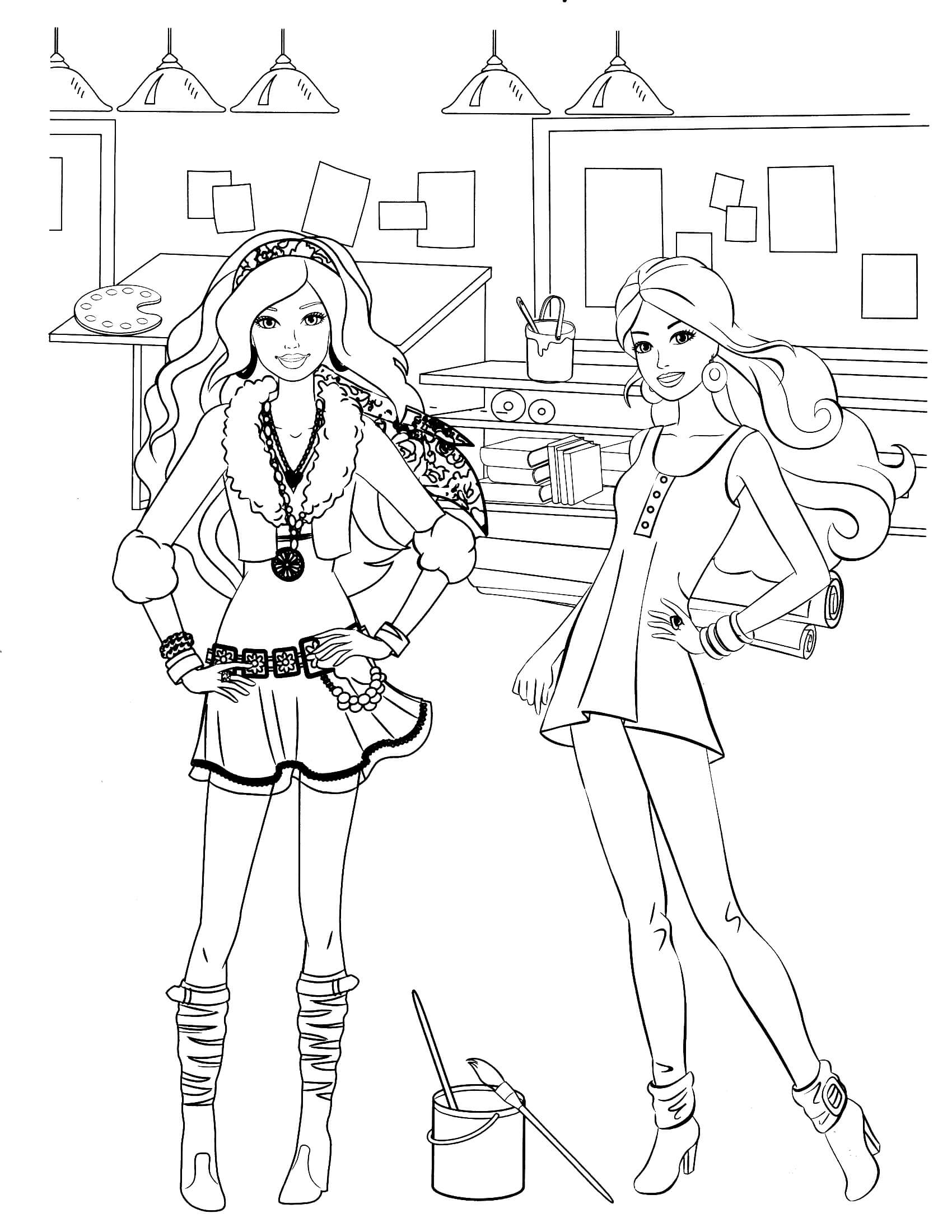 barbie car coloring pages barbie coloring pages christmas coloring pages for barbie car coloring pages