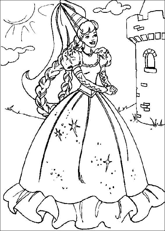 barbie doll coloring pages 1000 images about coloriage barbie on pinterest barbie coloring barbie pages doll