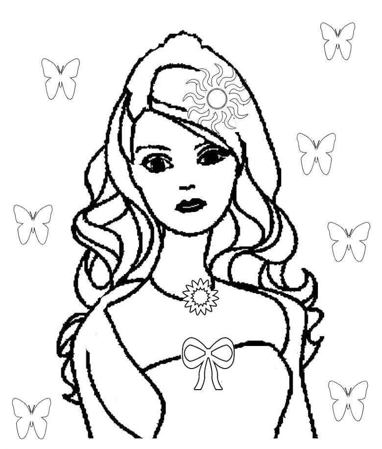 barbie doll coloring pages barbie life in the dreamhouse coloring pages coloring pages doll pages coloring barbie
