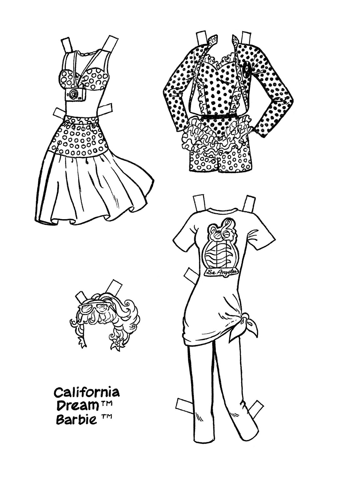 barbie doll coloring pages barbie39s dog coloring pages hellokidscom coloring doll pages barbie