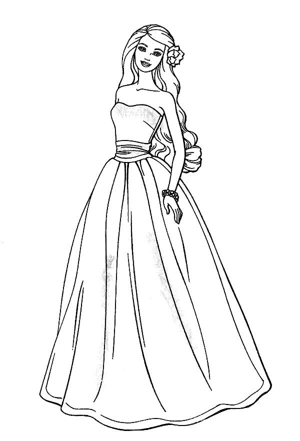 barbie doll coloring pages mostly paper dolls too barbie paper doll from coloring book pages doll barbie coloring
