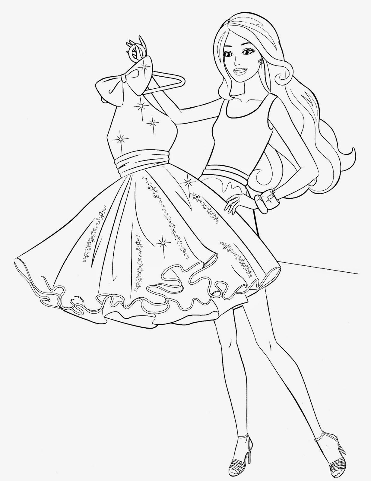 barbie pictures to print coloring pages barbie free printable coloring pages pictures barbie to print