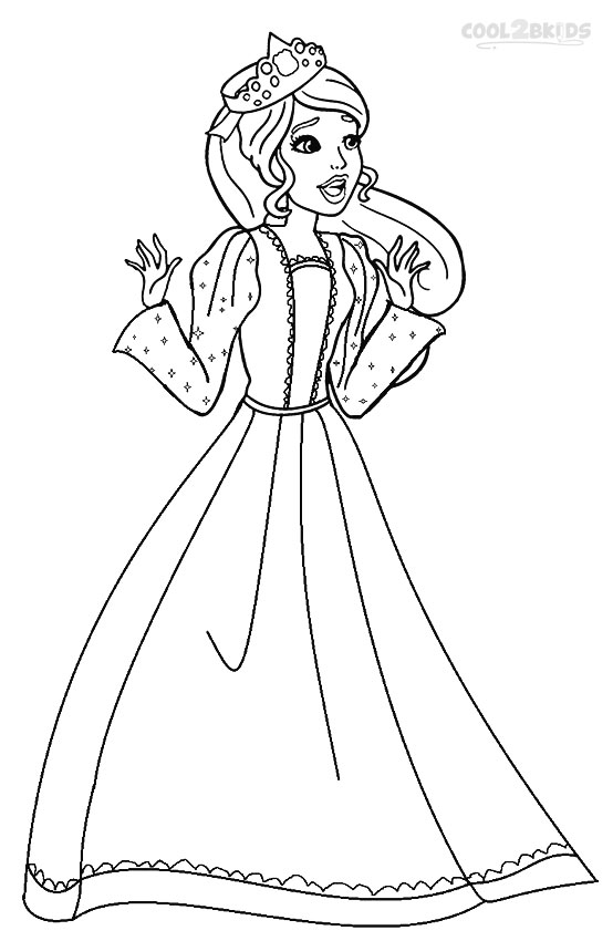 barbie princess coloring pages 8 printable barbie princess coloring pages gtgt disney coloring princess pages barbie
