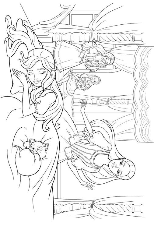 barbie princess coloring pages barbie princess coloring pages fantasy coloring pages pages barbie coloring princess