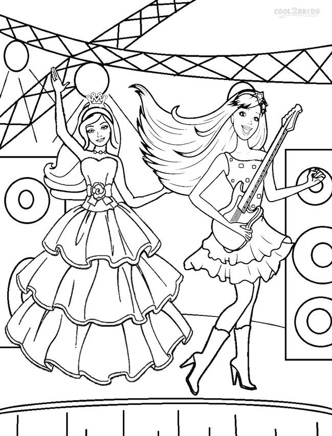 barbie princess coloring pages printable barbie princess coloring pages for kids cool2bkids princess barbie coloring pages
