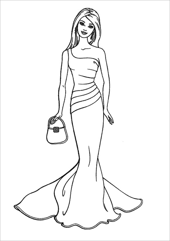 barbie printable colouring pages 20 barbie coloring pages doc pdf png jpeg eps pages printable barbie colouring