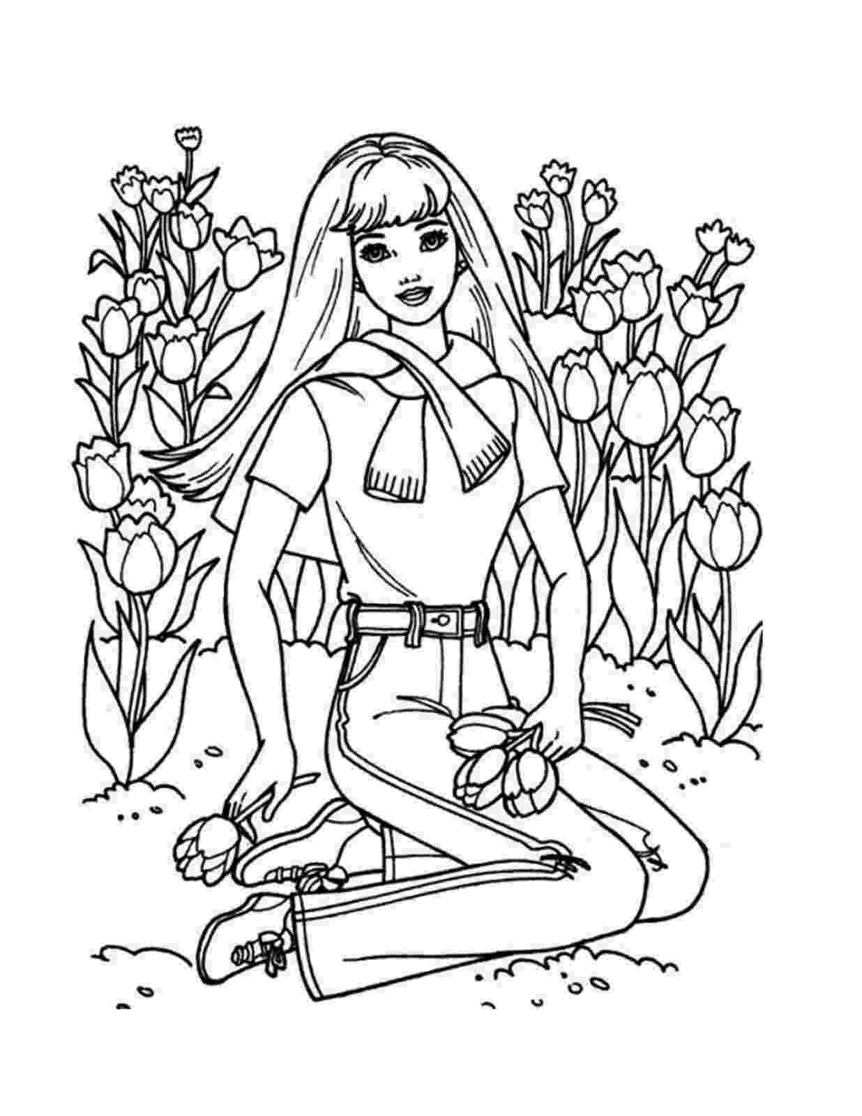 barbie printable colouring pages free coloring pages barbie coloring pages pages colouring printable barbie