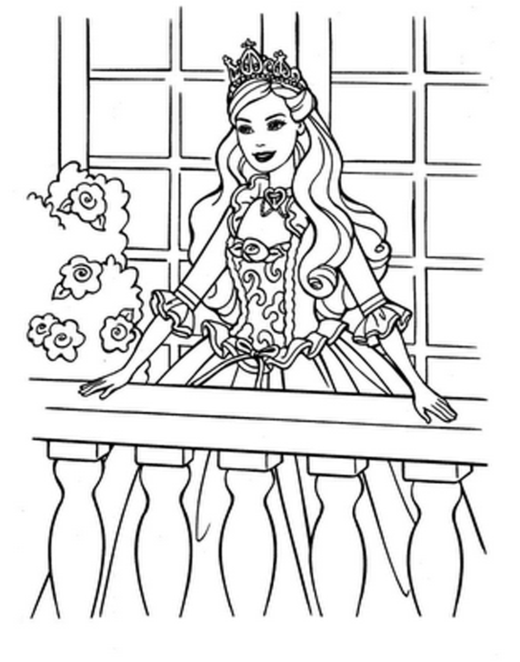 barbie printable colouring pages princess coloring pages printable barbie colouring pages