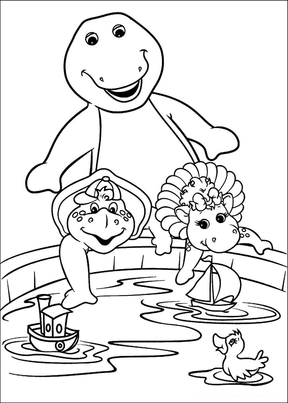 barney coloring barney coloring pages barney coloring