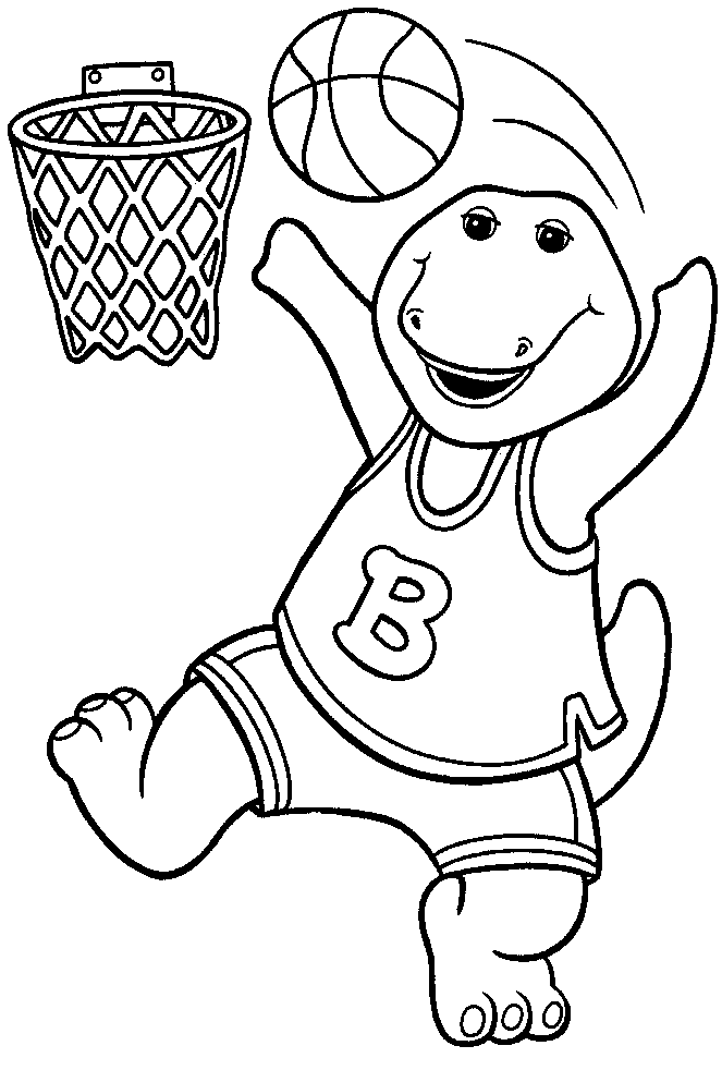 barney coloring barney coloring pages getcoloringpagescom barney coloring