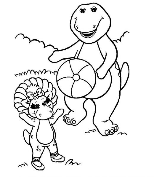 barney coloring coloring pages barney11 cartoons gt barney free barney coloring