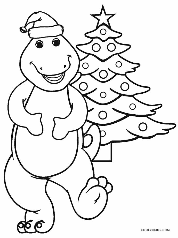 barney coloring free printable barney coloring pages for kids cool2bkids barney coloring
