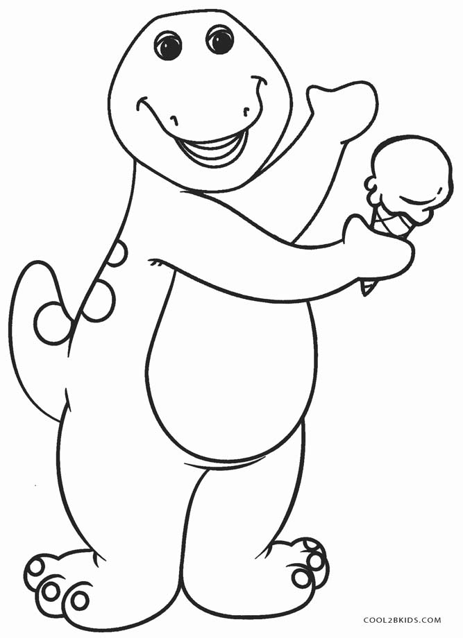 barney coloring free printable barney coloring pages for kids cool2bkids barney coloring 1 1