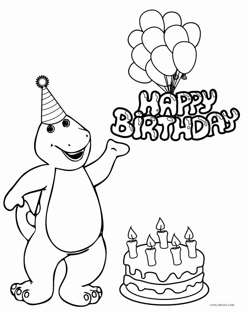 barney coloring printable coloring pages barney coloring pages barney coloring