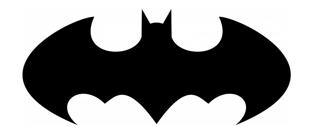 bat man sign batman logo in c using graphicsh using 200 line and sign bat man