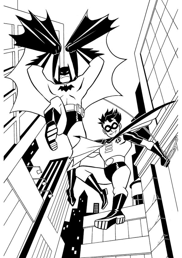 batman and robin pictures to color batman and robin hood coloring pages for kids gtgt disney and robin color batman to pictures