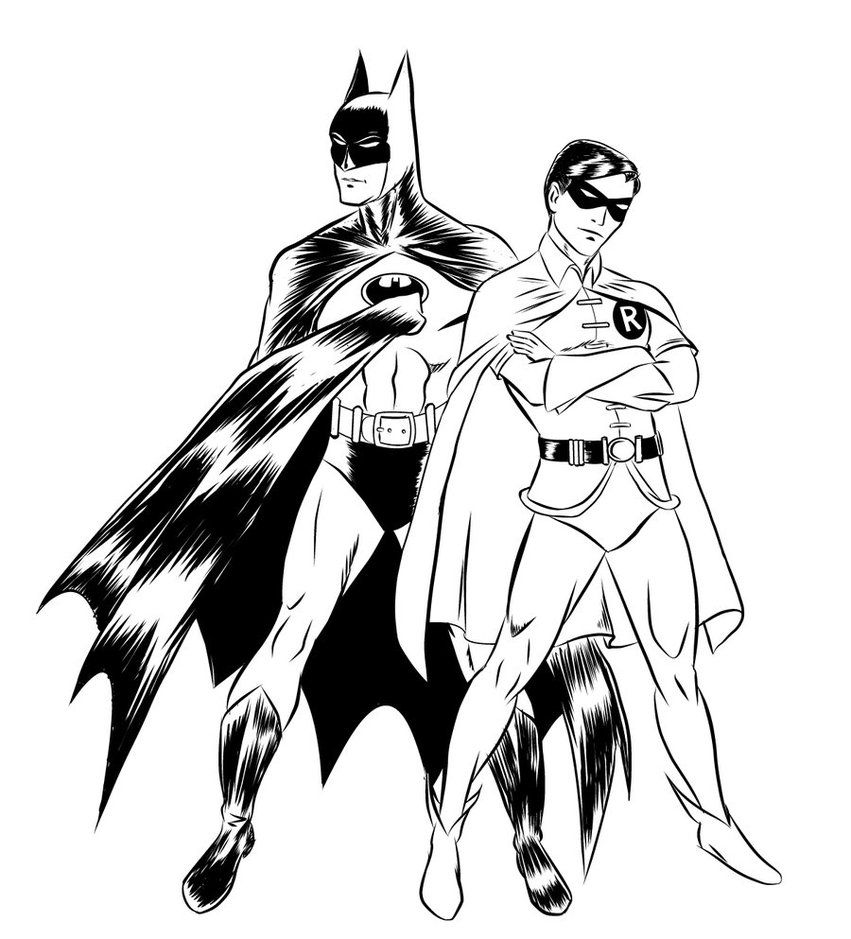 batman and robin pictures to color free printable batman coloring pages for kids color and to robin batman pictures