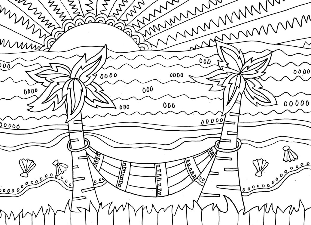 beach coloring page go to the beach coloring page free printable coloring pages coloring page beach