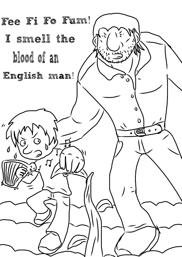 beanstalk coloring page 46 jack and the beanstalk coloring page beanstalk coloring page beanstalk