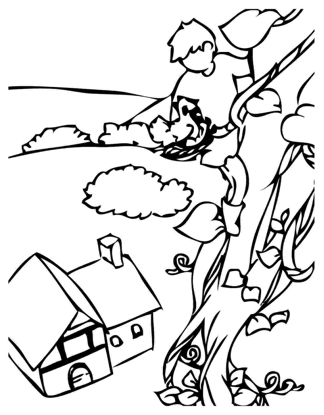 beanstalk coloring page jack and the beanstalk coloring pages coloring home coloring beanstalk page