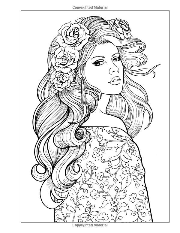 beautiful colouring pictures 889 best beautiful women coloring pages for adults images colouring beautiful pictures