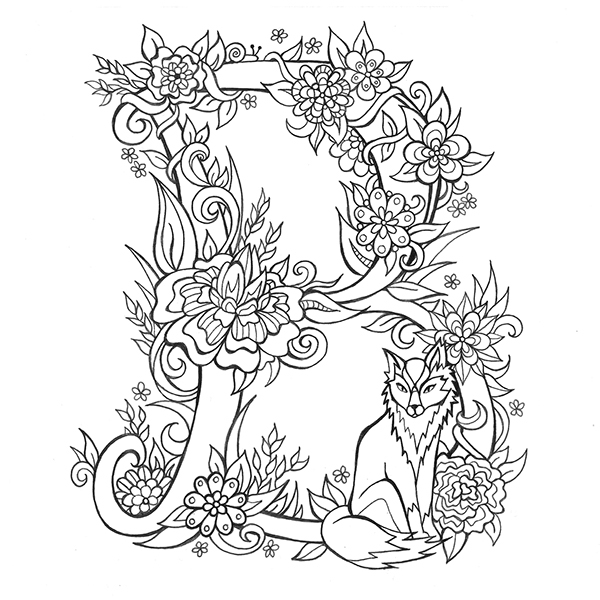 beautiful colouring pictures beautiful letters to colour and share on student show beautiful pictures colouring