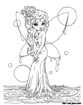 beautiful colouring pictures printable beautiful fairy on water coloring in pages colouring pictures beautiful