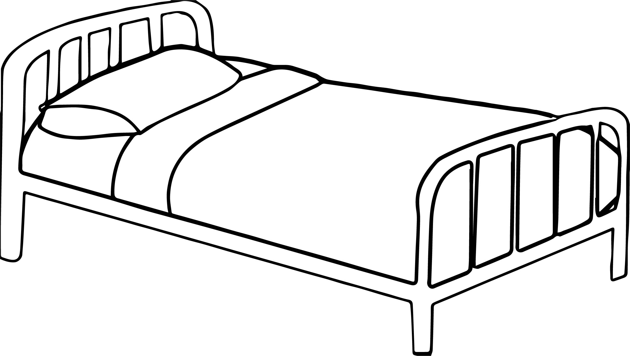 bed coloring pages bed 38 objects printable coloring pages coloring bed pages