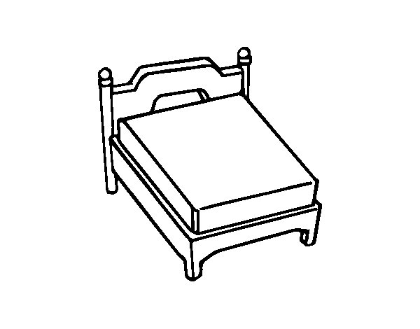 bed coloring pages bed coloring pages pages bed coloring