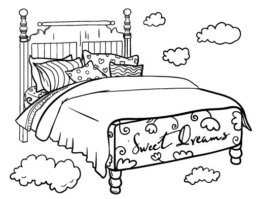 bed coloring pages bunk bed pages coloring pages pages bed coloring