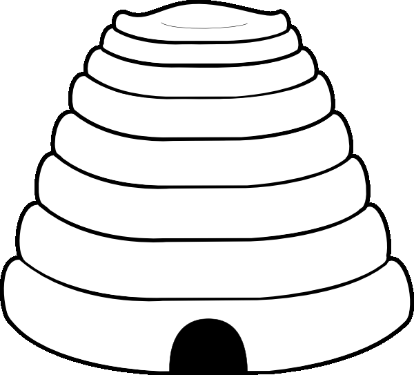 beehive coloring page beehive with hole in the middle coloring page netart beehive coloring page