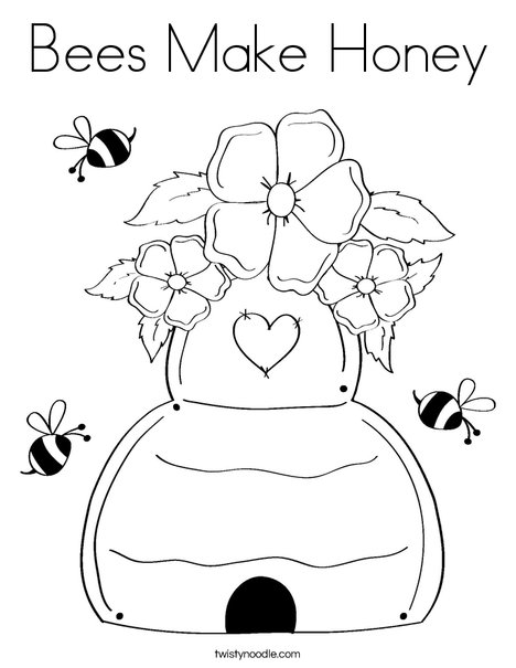 beehive coloring page peru elementary district 124 northview pbis page beehive coloring
