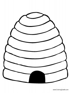 beehive coloring page the best place for coloring page at coloringsky part 13 coloring page beehive