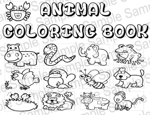 best animal colouring books 9 best customizable printable coloring and activity books animal colouring best