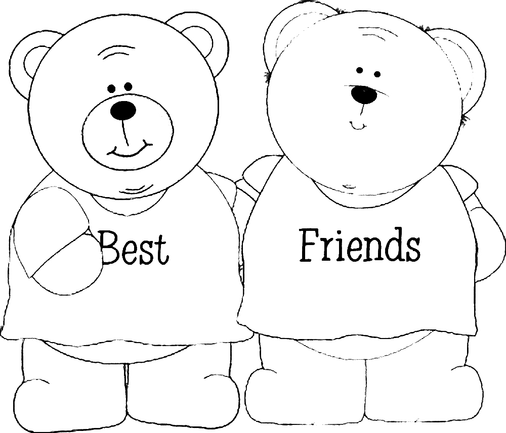 best friend coloring pictures best friend coloring pages to download and print for free pictures friend coloring best
