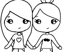 best friend coloring pictures pin on chibi forms pictures best friend coloring
