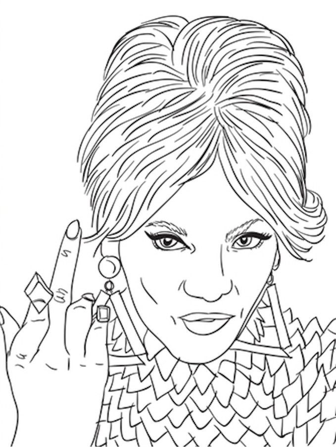 beyonce coloring book beyonce coloring pages at getcoloringscom free coloring book beyonce