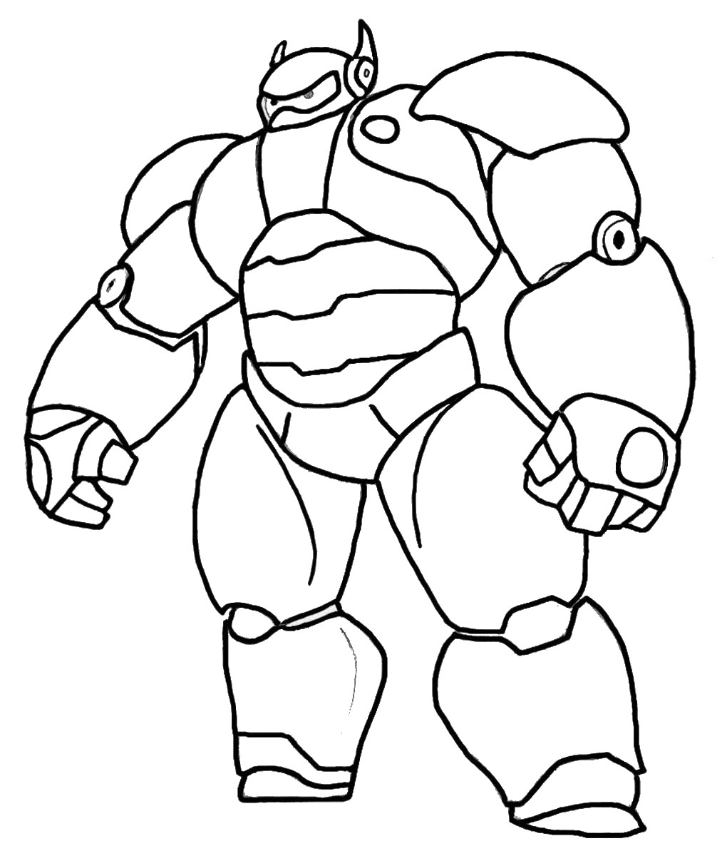 big coloring pages big hero 6 coloring pages birthday printable pages big coloring