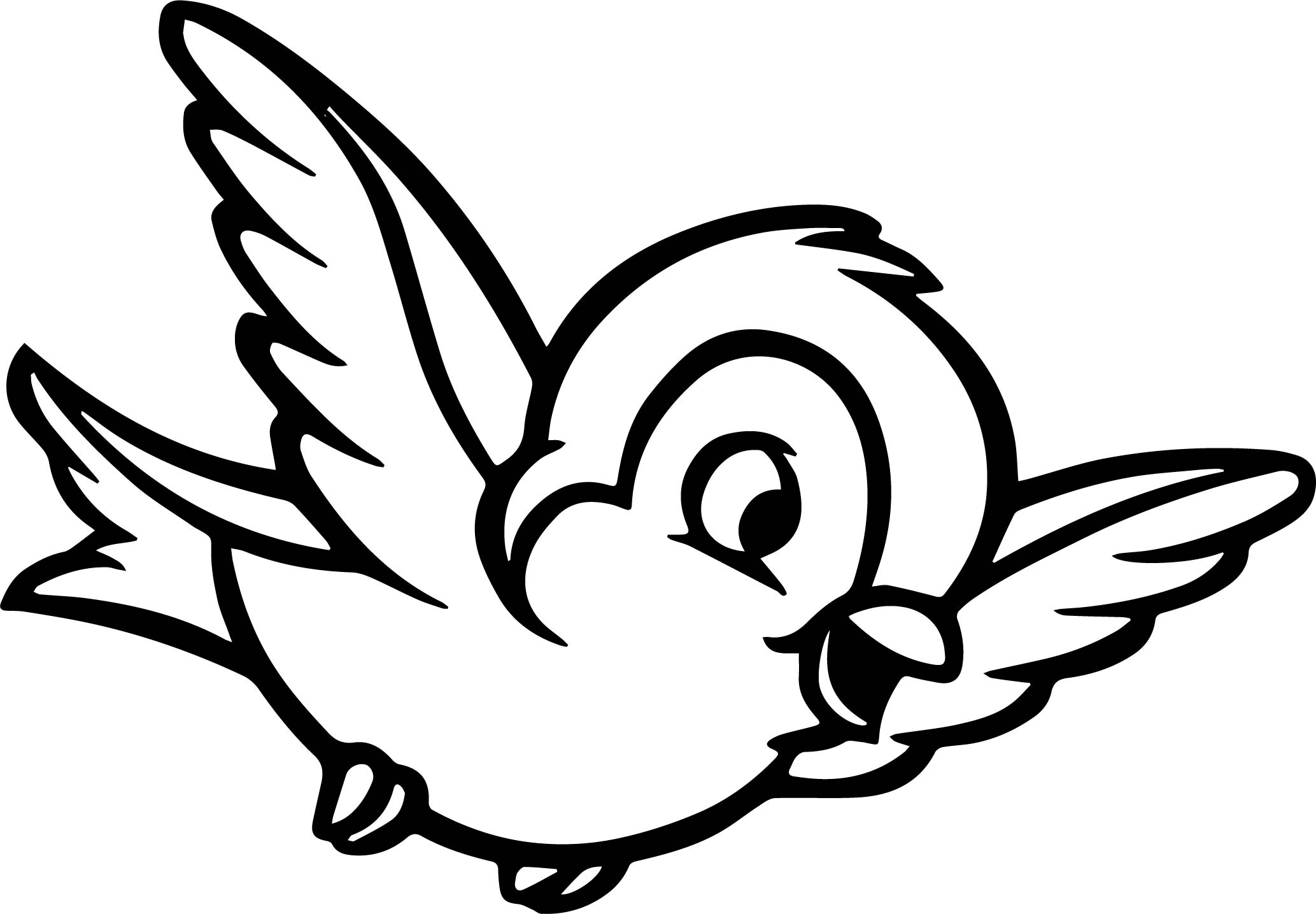 bird coloring pages black and white bird drawing at getdrawings free download pages bird coloring