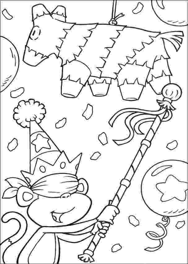 birthday party coloring page birthday party invitations coloring page crayolacom coloring party birthday page