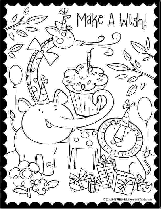 birthday party coloring page coloring activity pages 061611 party birthday page coloring