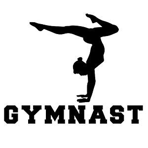 black and white gymnastics pictures clip art gymnastics clipartsco gymnastics black and white pictures