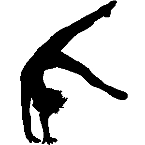 black and white gymnastics pictures gymnastics silhouette images stock photos vectors shutterstock black pictures white gymnastics and