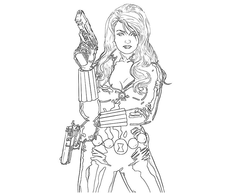 black widow coloring page 3 black widow coloring page widow black page coloring