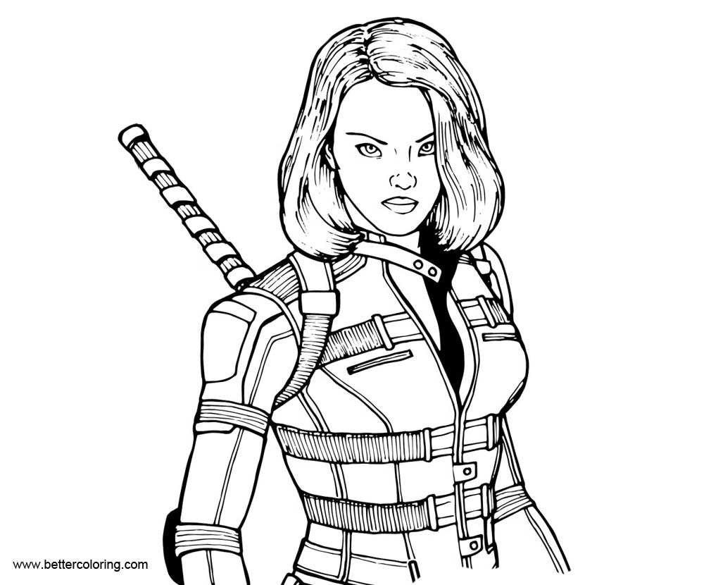 black widow coloring page lego avengers printable coloring pages coloringsnet widow page black coloring