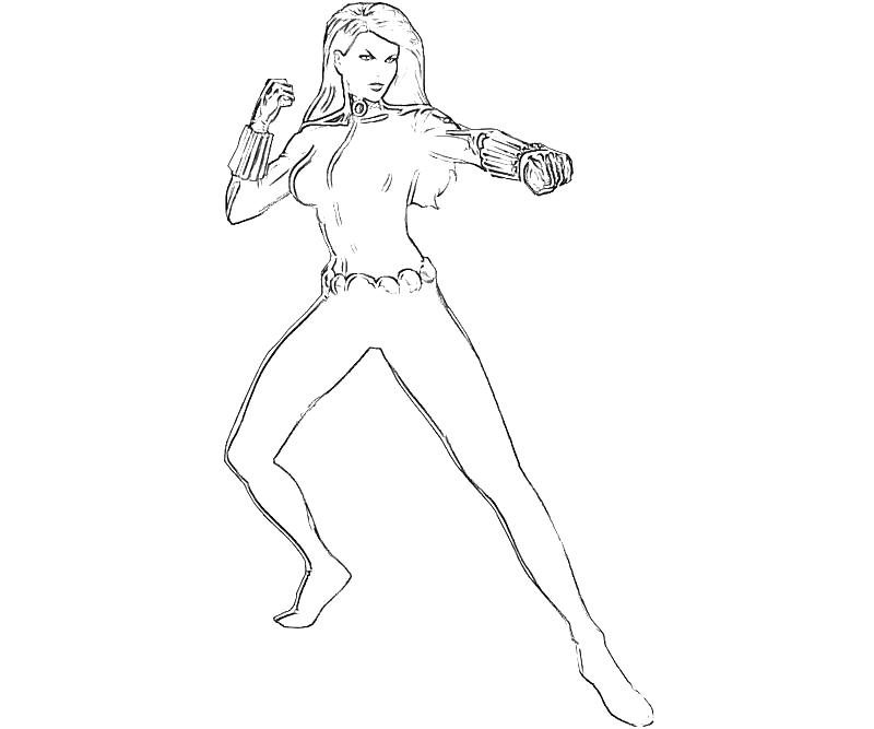 black widow coloring page x men black widow character yumiko fujiwara black widow coloring page